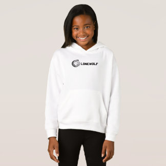 Lonewolf Girls' Fleece Pullover Hoodie