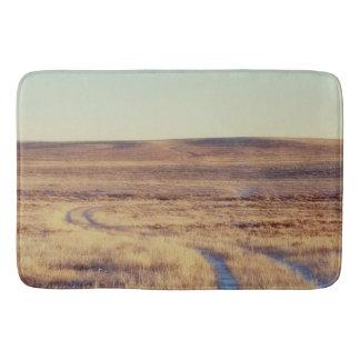 Long and Winding Road Landscape Bath Mat