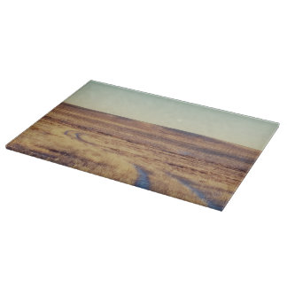 Long and Winding Road Landscape Cutting Board