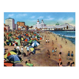 Long Beach CA Vintage Postcard