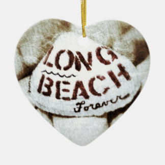 Long Beach Forever. Ceramic Ornament