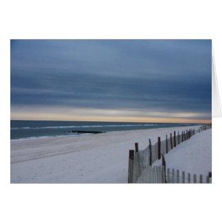 Long Beach Island New Jersey Card