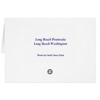 Long Beach Peninsula Card
