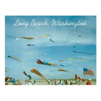 Long Beach, Washington Travel Postcard