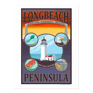 Long Beach, WashingtonTravel Postcard