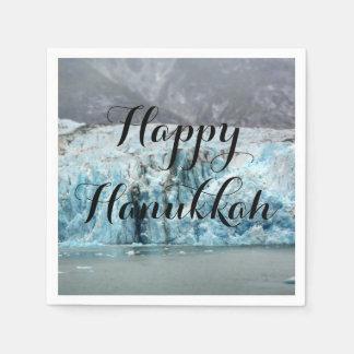 Long Blue Glacier Napkins Disposable Napkins