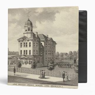 Long Branch Graded School, Long Branch, NJ Vinyl Binders