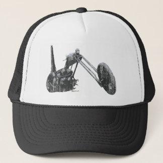 Long Chopper Trucker Hat