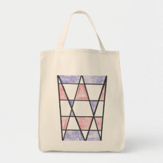 Long Diamond Motif Bag