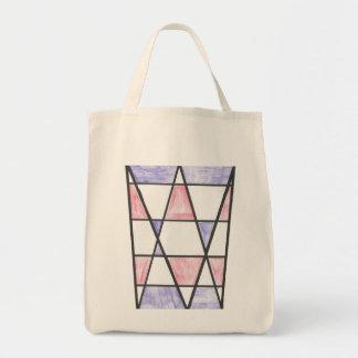 Long Diamond Motif Bag
