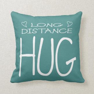 Long Distance Hug Throw Pillow
