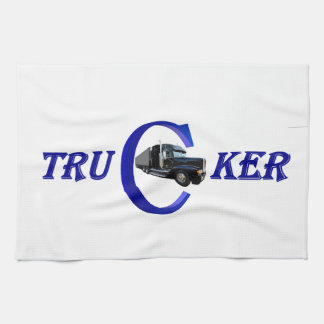 Long-distance truck driver kitchen towel