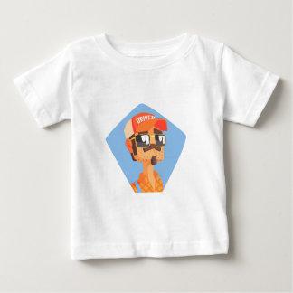 Long Distance Truck Driver Portrait Baby T-Shirt