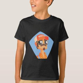 Long Distance Truck Driver Portrait T-Shirt