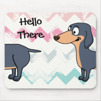 Long Dog Love - Dachshund Mousepad