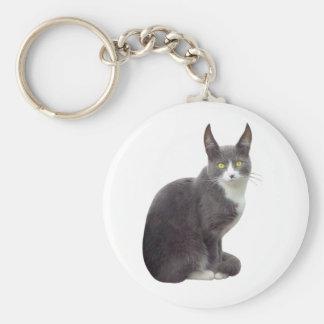 Long Eared Cat Keychain