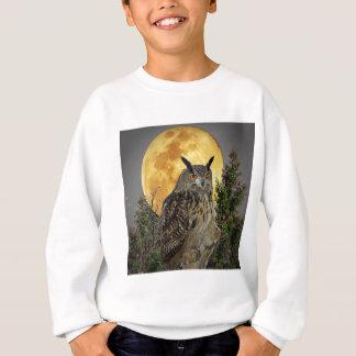 LONG EARED OWL BY MOONLIGHT SWEATSHIRT