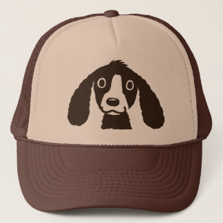 Long Ears Dog Trucker Hat