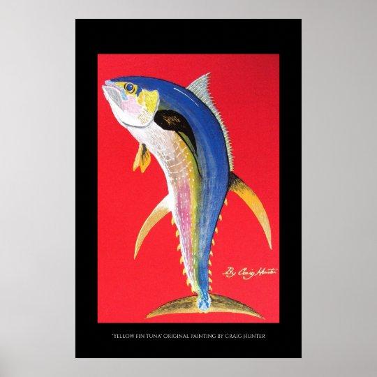 Long fin tuna poster