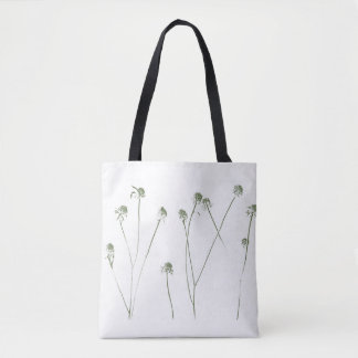 Long Flower Stems With Seed Pods Tote Bag