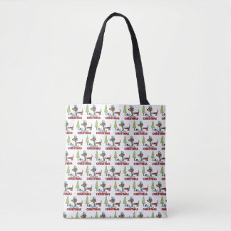 Long for Christmas-Dachshund Tote Bag