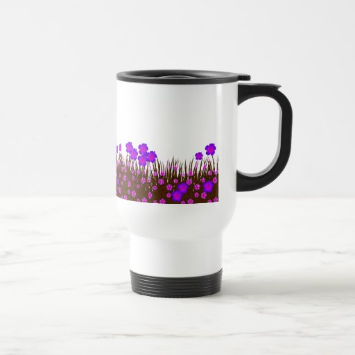 Long garden patch coffee mugs