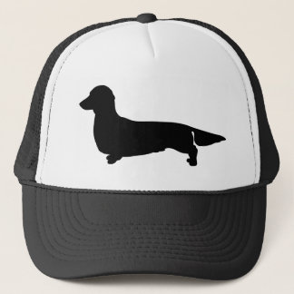 Long Hair Dachshund Ball Cap
