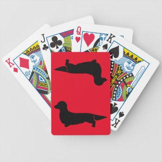 Long Hair Dachshund Playing Cards