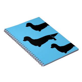 Long Hair Dachshund Spiral Notebook