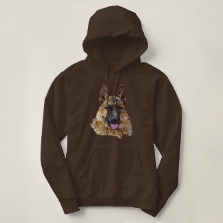 Long Hair German Shepherd Dog Hoodie