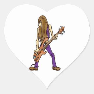 long hair guitar man musician purple.png stickers
