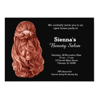 Long hair | Hairstylist | Hairdresser |  Salon Card