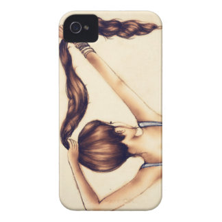 Long hair IPhone 4 Case