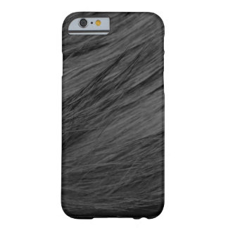 LONG HAIRED BLACK CAT FUR BARELY THERE iPhone 6 CASE