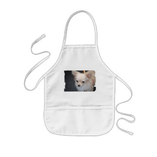 Long Haired Chihuahua Children s Apron