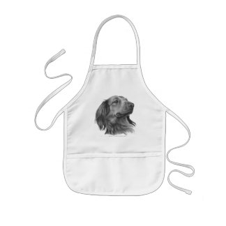 Long-Haired Dachshund Apron