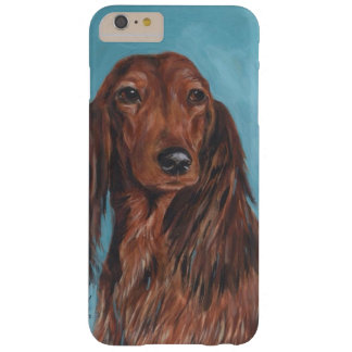 Long haired dachshund barely there iPhone 6 plus case