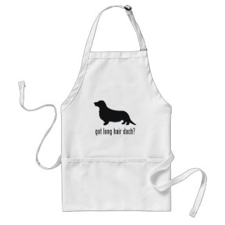 Long Haired Dachsund Aprons