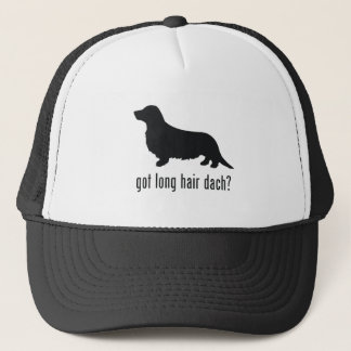 Long Haired Dachsund Trucker Hat