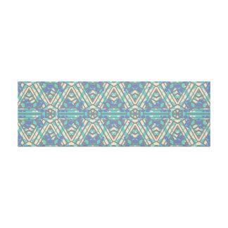 Long Horizontal Geometrical TribalPattern Wall Art