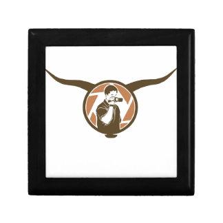 Long Horn Bull Videography Gift Box