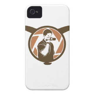 Long Horn Bull Videography iPhone 4 Case