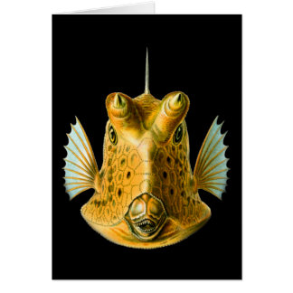 Long-horned Cowfish Card