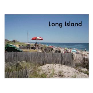 Long Island Beach Postcard
