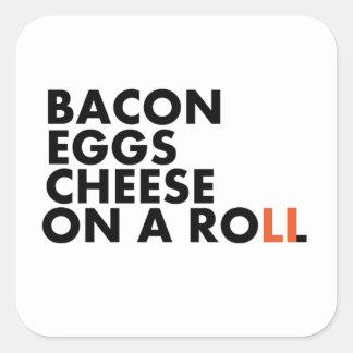 Long Island Breakfast Sandwich Square Sticker