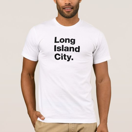 Long Island City (black) T-Shirt