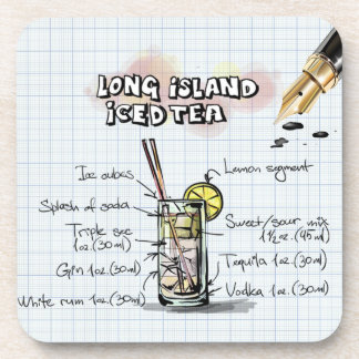 Long Island Iced Tea Coaster