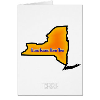 Long Island Iced Tea Drink Recipe Greeting Card