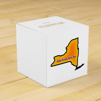 Long Island Iced Tea Drink Recipe Wedding Favor Boxes