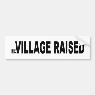 Long Island Incorporated Village Raised Bumper Sticker